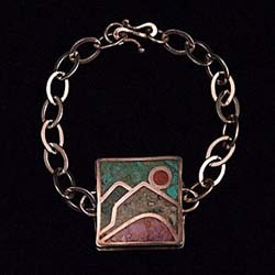 Square Inlay Bracelet
