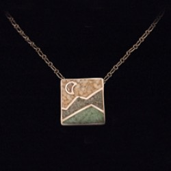 Square Inlay Pendant