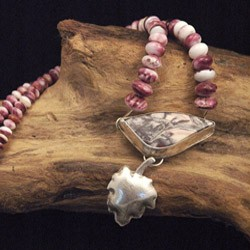 Exotica Jasper set in Sterling